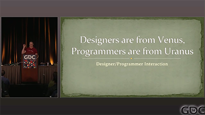 Designers Are from Saturn, Programmers Are from Uranus