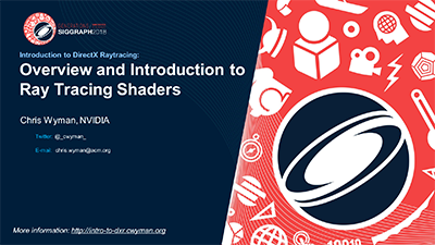 Introduction to DirectX Raytracing Shaders